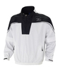 MIZUNO IMPERMALITE® 1/4 ZIP RAINTOP white/black